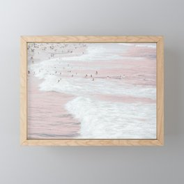 Summer Dip Framed Mini Art Print