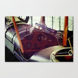 Vitnage plane cockput Canvas Print