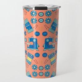 Sewing Symmetry Travel Mug
