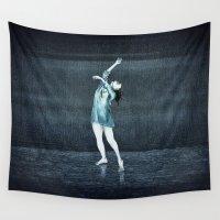 dance Wall Tapestries featuring dance by Priscila Arandiga