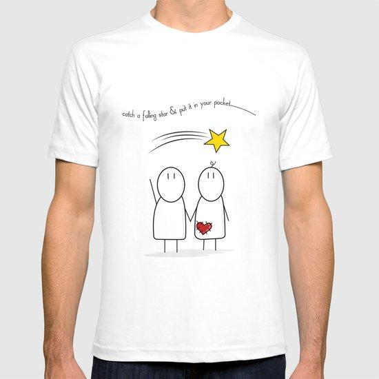 Jibsey & Jess. Catch A Falling Star T-shirt