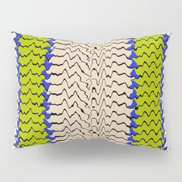 Abstract Waves III Pillow Sham