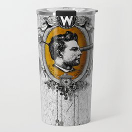 The Watchmaker (white version) Travel Mug