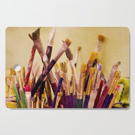 Paintbrushes Cutting Board