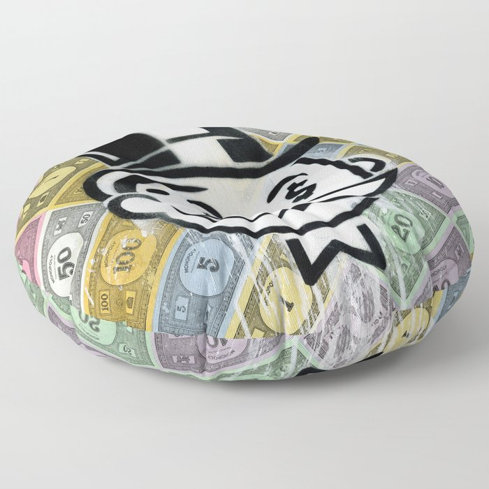 Another Day - Another Dollar Floor Pillow