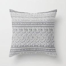 Hieroglyphs of Transportation Throw Pillow