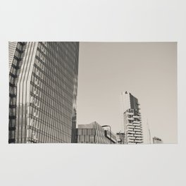 Skyscrapers in the center of Milan Rug
