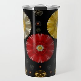 Color And Strawberrys Travel Mug