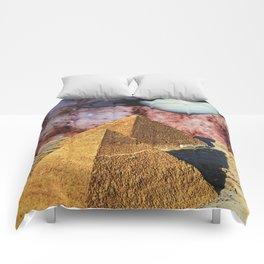 Pyramids Comforters