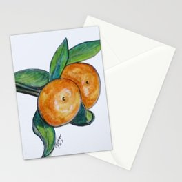 Two Oranges Stationery Cards