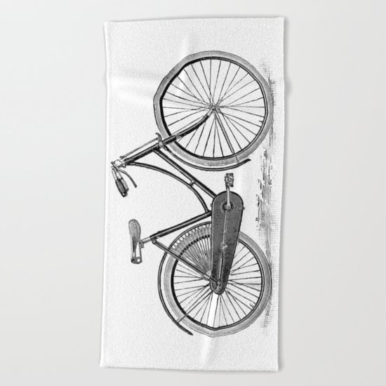 Bicycle 2 Beach Towel