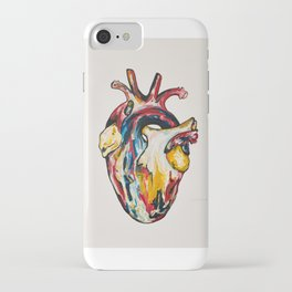 Pink Heart  iPhone Case