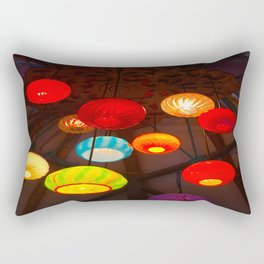 Lights at Mama's Fish House, Maui Rectangular Pillow