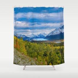 Matanuska Glacier, Alaska - Autumn Shower Curtain