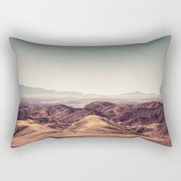 Moon Landscape Namibia Rectangular Pillow