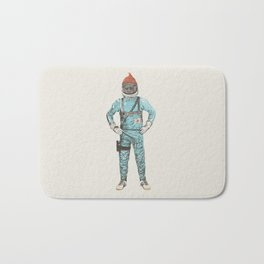 Zissou In Space Bath Mat