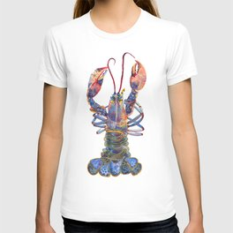 Kaliedoscope Lobster T-shirt