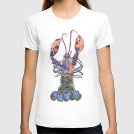 Kaliedoscope Lobster T-shirt