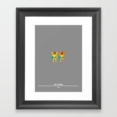 Metroid Framed Art Print