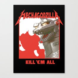 MechaZilla Canvas Print