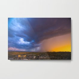 Monsoon Coming Metal Print