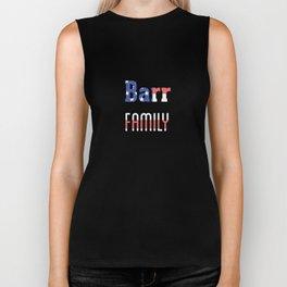 Barr Family Biker Tank