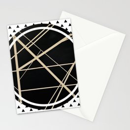Crossroads - small triangle Stationery Cards