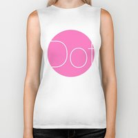dot Biker Tanks featuring Dot by Mr and Mrs Quirynen