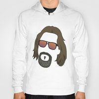 the dude Hoodies featuring Dude by DE.FE.