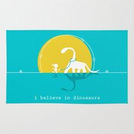 i believe in dinosaurs Rug