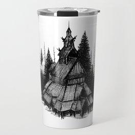 Fantoft Stave Church Travel Mug