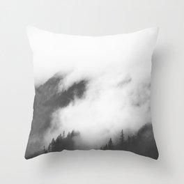 PNW Storm II Throw Pillow