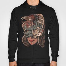 Aztec Eagle Warrior Hoody