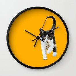Polygonal Cuteness Wall Clock
