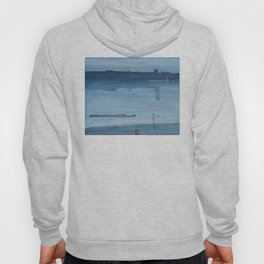 James Abbott McNeill Whistler - Nocturne: Blue and Silver - Chelsea Hoody