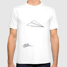 Paper Airplane Dreams T-shirt