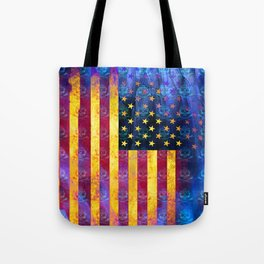 Bitter Poison Skulls: (Flag Exclusion) Tote Bag