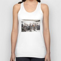 band Tank Tops featuring Rock Band by Orbon Alija