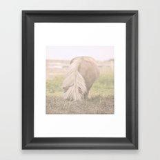 Little Pony Framed Art Print