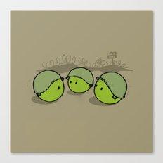War & Peas Canvas Print