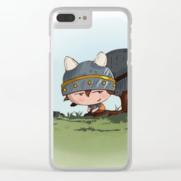 The First Little Explorer Clear iPhone Case