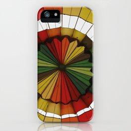 hot air balloon color iPhone Case
