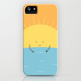 good morning sunshine! iPhone Case