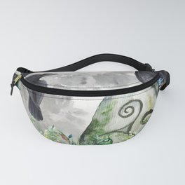 Raven Moon Magick Fanny Pack