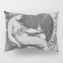 Cherub | Angels Vintage | Victorian | Sketch | Letter B Pillow Sham