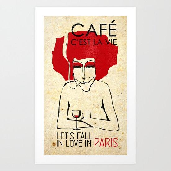 Café c'est la vie - Paris by lulla