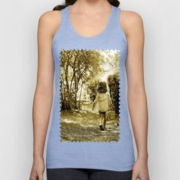 Angel of Hope & Lily Gold Unisex Tank Top