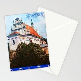 retro iconic Kazimierz Stationery Cards