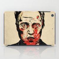 christopher walken iPad Cases featuring Walken Dead by Chase Kunz