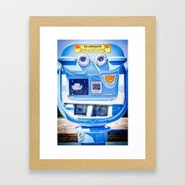 Automatic Focus Framed Art Print
